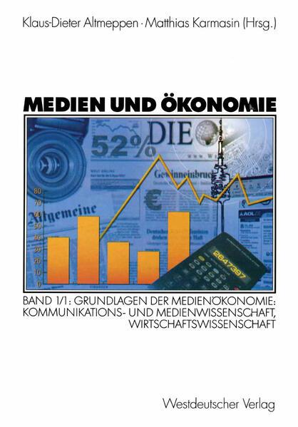 Medien und Ökonomie - Coverbild