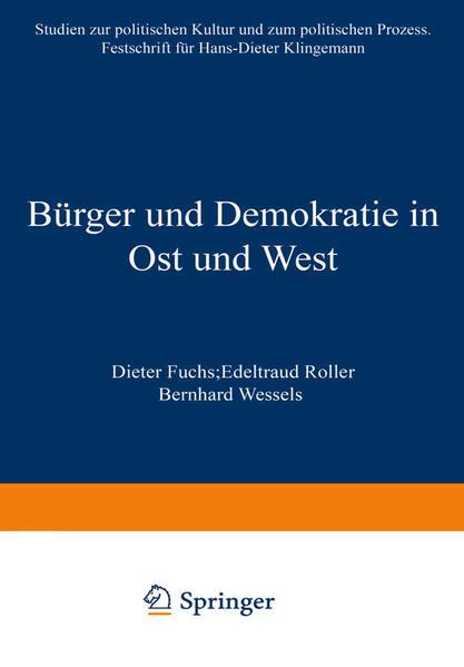 Bürger und Demokratie in Ost und West - Coverbild
