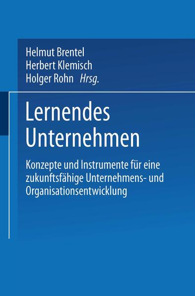 Lernendes Unternehmen - Coverbild