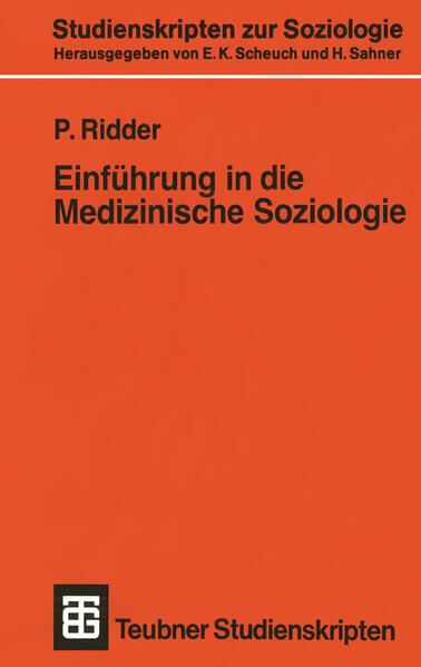 Einführung in die Medizinische Soziologie - Coverbild