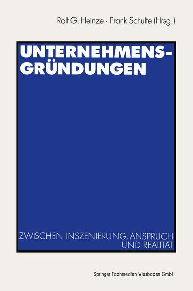 Unternehmensgründungen - Coverbild