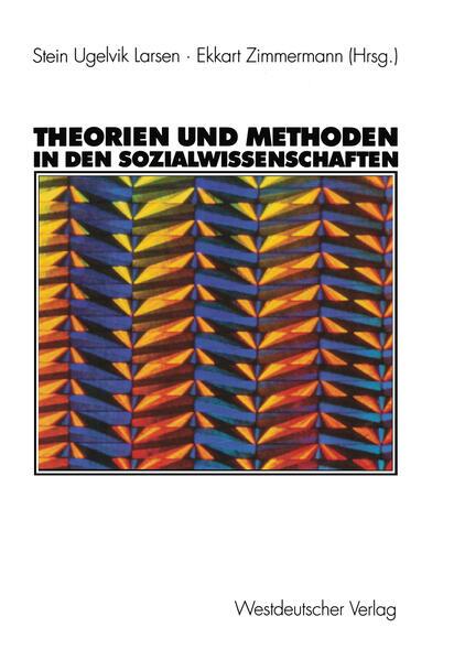 Theorien und Methoden in den Sozialwissenschaften - Coverbild