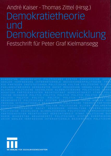 Demokratietheorie und Demokratieentwicklung - Coverbild