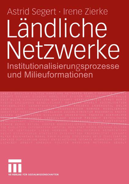 Ländliche Netzwerke - Coverbild