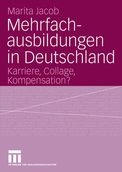 Mehrfachausbildungen in Deutschland - Coverbild