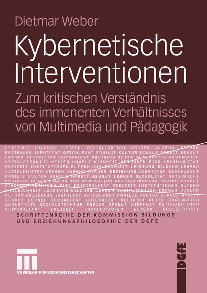 Kybernetische Interventionen - Coverbild