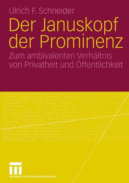 Der Januskopf der Prominenz - Coverbild