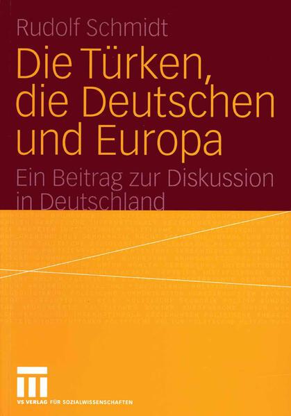 Die Türken, die Deutschen und Europa - Coverbild