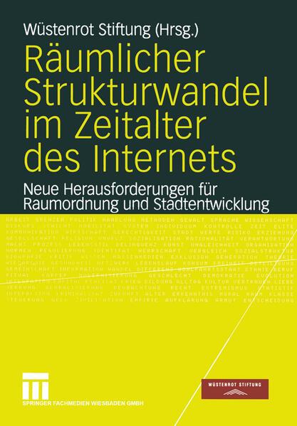 Räumlicher Strukturwandel im Zeitalter des Internets - Coverbild