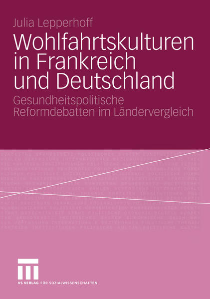 Wohlfahrtskulturen in Frankreich und Deutschland - Coverbild