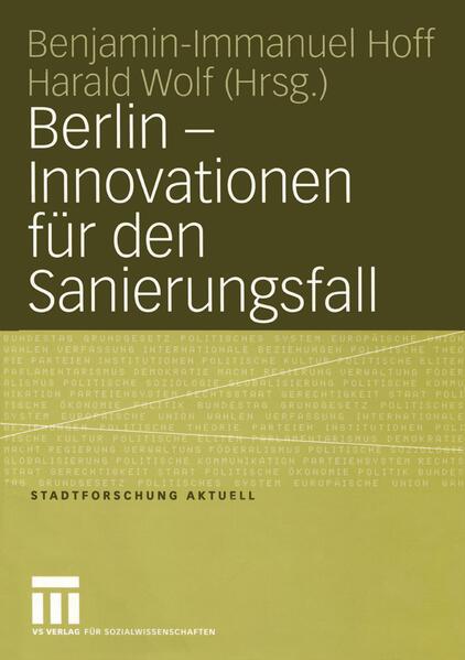 Berlin — Innovationen für den Sanierungsfall - Coverbild