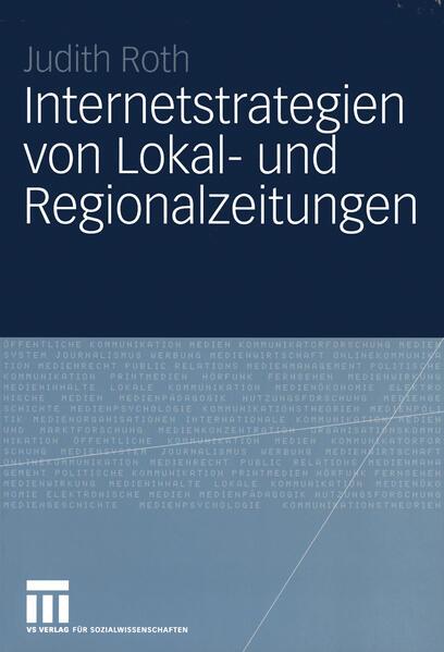 Internetstrategien von Lokal- und Regionalzeitungen - Coverbild