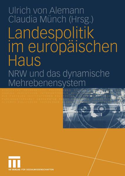 Landespolitik im europäischen Haus - Coverbild