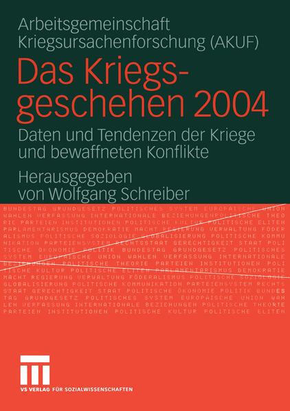 Das Kriegsgeschehen 2004 Epub Herunterladen