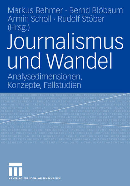 Journalismus und Wandel - Coverbild