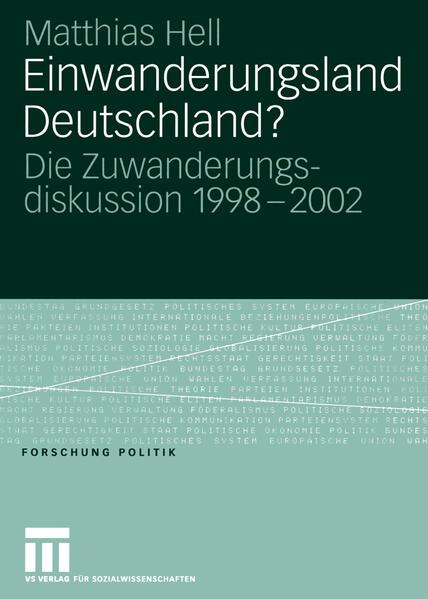 Einwanderungsland Deutschland? - Coverbild