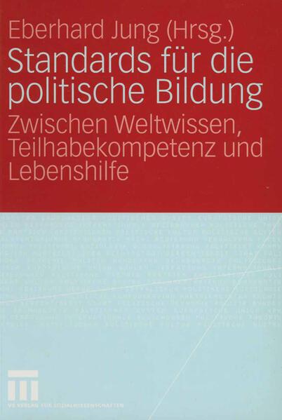 Standards für die politische Bildung - Coverbild