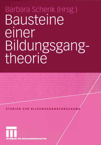 Bausteine einer Bildungsgangtheorie - Coverbild