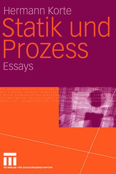 Statik und Prozess - Coverbild
