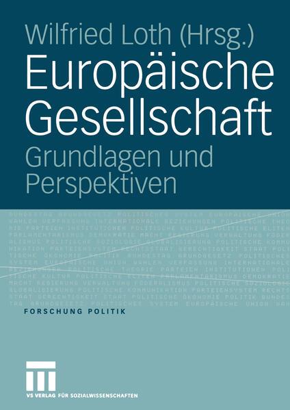Europäische Gesellschaft - Coverbild