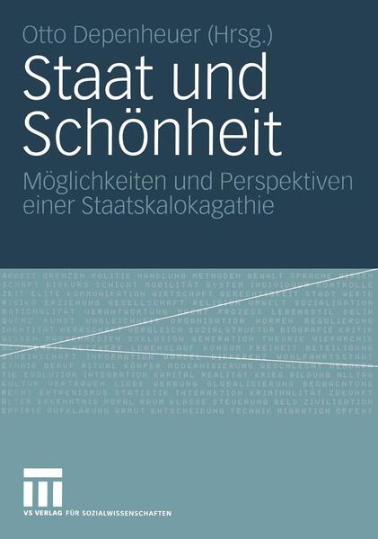 Staat und Schönheit - Coverbild