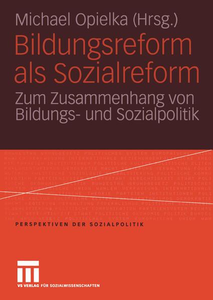 Bildungsreform als Sozialreform - Coverbild