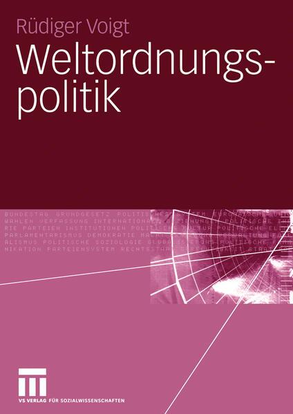 Weltordnungspolitik - Coverbild