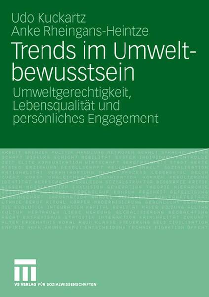 Trends im Umweltbewusstsein - Coverbild