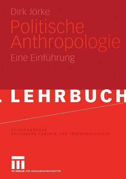 Politische Anthropologie - Coverbild