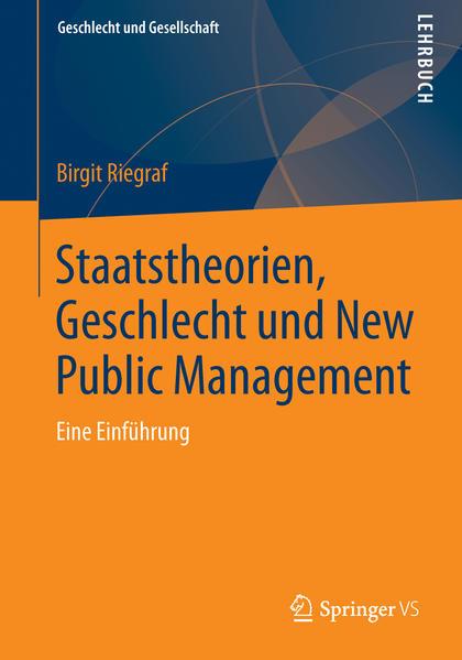 Staatstheorien, Geschlecht und New Public Management - Coverbild