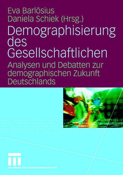 Demographisierung des Gesellschaftlichen - Coverbild