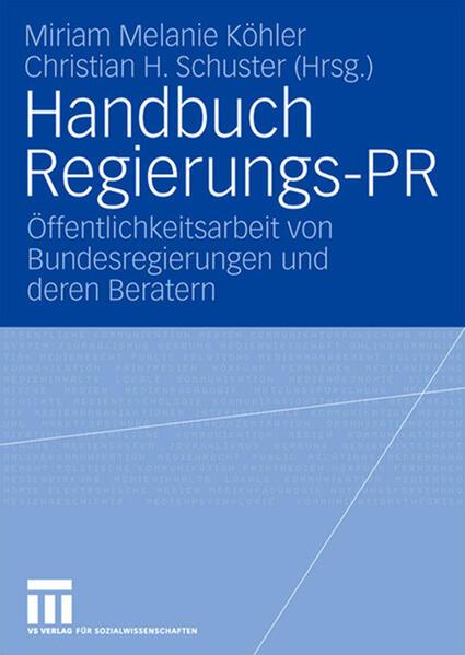 Handbuch Regierungs-PR - Coverbild