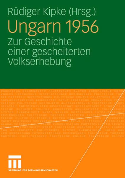 Ungarn 1956 - Coverbild