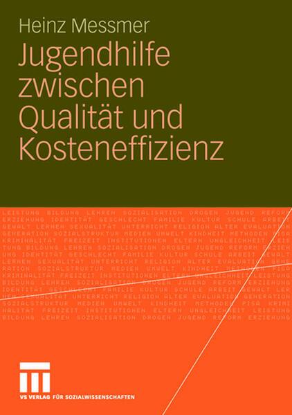 Jugendhilfe zwischen Qualität und Kosteneffizienz - Coverbild
