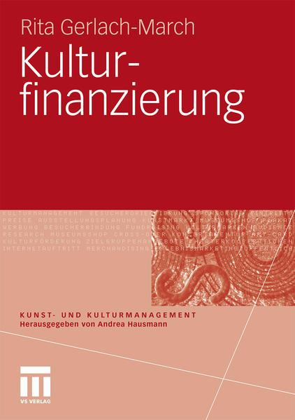 Kulturfinanzierung - Coverbild