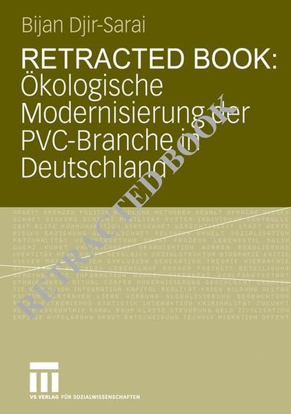 Ökologische Modernisierung der PVC-Branche in Deutschland - Coverbild