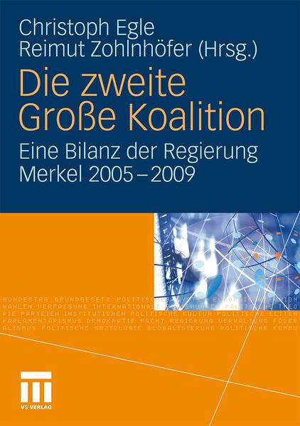 Die zweite Große Koalition - Coverbild
