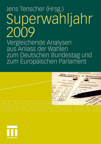 Superwahljahr 2009 - Coverbild