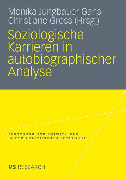 Soziologische Karrieren in autobiographischer Analyse - Coverbild