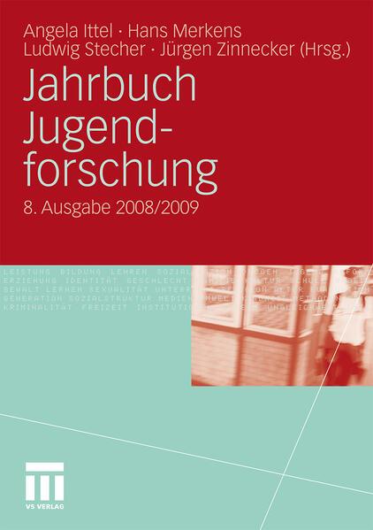 Jahrbuch Jugendforschung - Coverbild