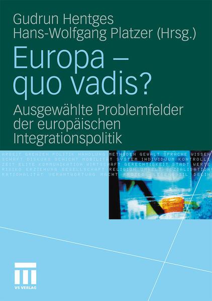 Europa - quo vadis? - Coverbild
