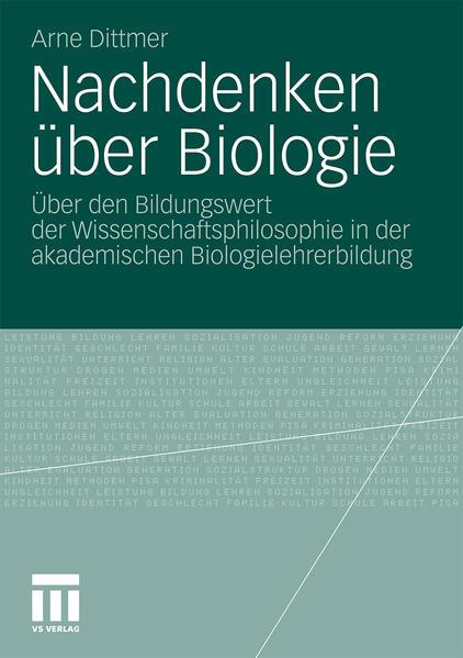 Nachdenken über Biologie - Coverbild