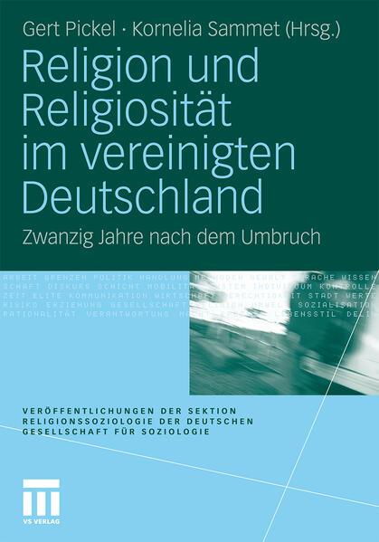 Religion und Religiosität im vereinigten Deutschland - Coverbild