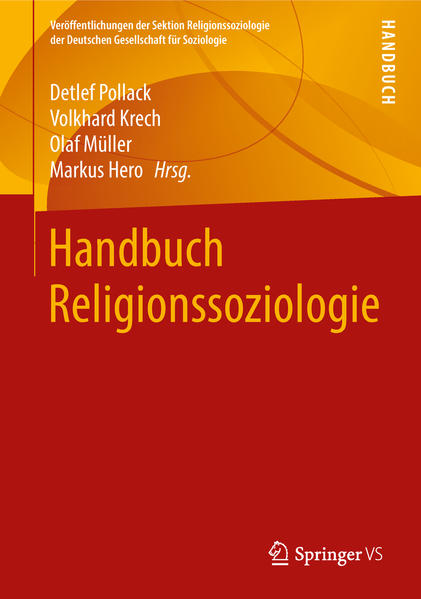Handbuch Religionssoziologie - Coverbild