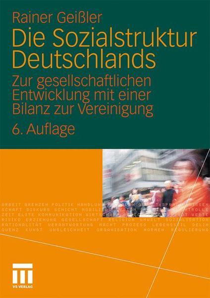 Die Sozialstruktur Deutschlands - Coverbild