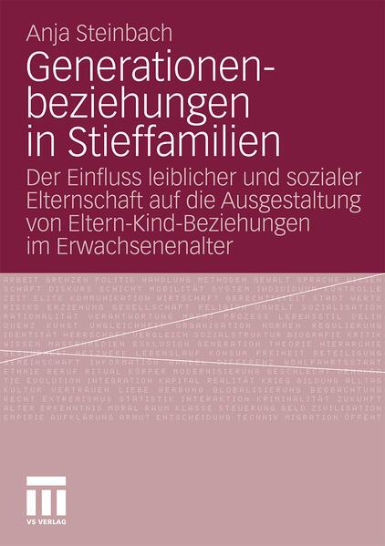Generationenbeziehungen in Stieffamilien - Coverbild