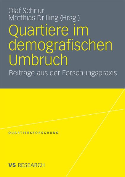 Quartiere im demografischen Umbruch - Coverbild