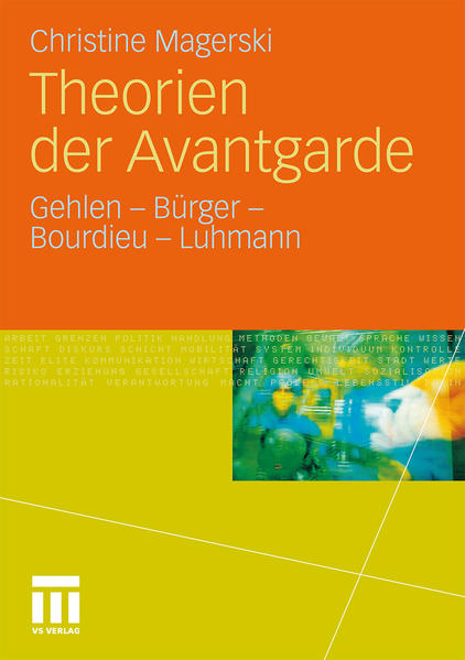 Theorien der Avantgarde - Coverbild