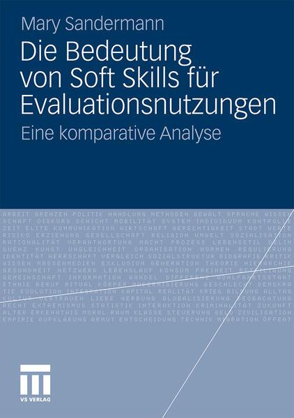 Die Bedeutung von Soft Skills für Evaluationsnutzungen - Coverbild