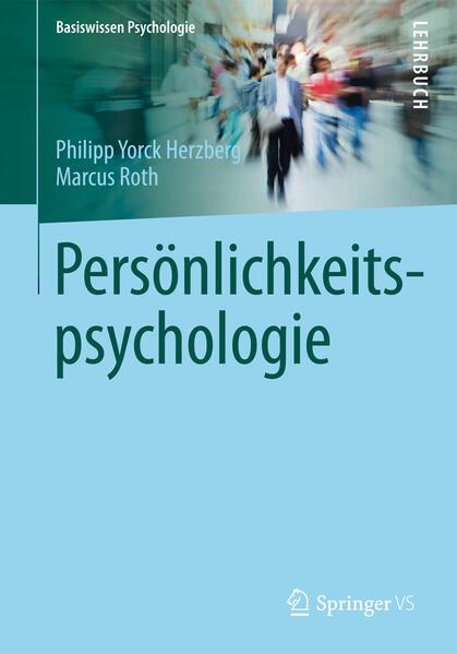 Persönlichkeitspsychologie - Coverbild